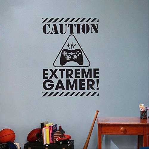adesivo murale 3d harry potter Videogioco Videogiochi Decalcomania regalo per camera dei ragazzi Sala giochi Ps4 Quote Camera da letto Home Decor