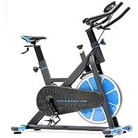 Preisvergleich für FitBike Indoor Cycle Race Magnetic Home - 20 kg Schwungrad - Poly V-Riemen und Magnetisches Widerstandssystem - Mit Trainingscomputer - Spinning Fahrrad