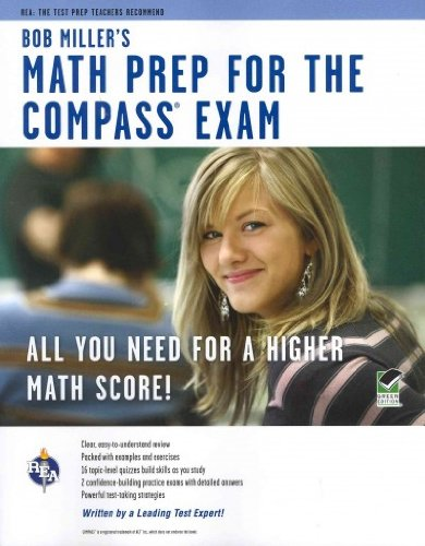 (Bob Miller's Math Prep for the Compass Exam (Green)) By Miller, Bob (Author) Paperback on (11 , 2011)