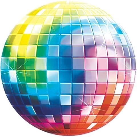 Globo Bola Disco No Inflado