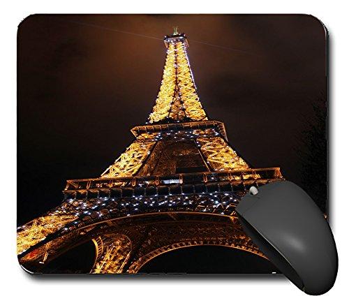 Preisvergleich Produktbild Mausp0941 Mauspad Paris Frankreich Eifelturm Mausunterlage Mausmatte Mousepad Pc Computer NEU
