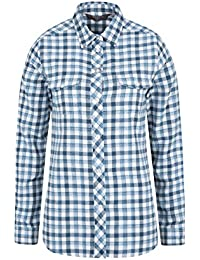 Mountain Warehouse Beech Brushed Flannel Womens Shirt