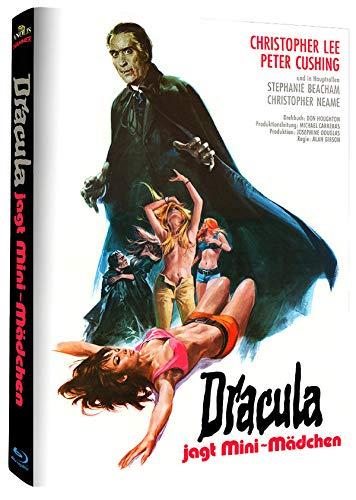 Dracula jagt Mini Mädchen - Hammer Edition Nr. 22- Cover B - Mediabook - Limitierte Auflage [Blu-ray]