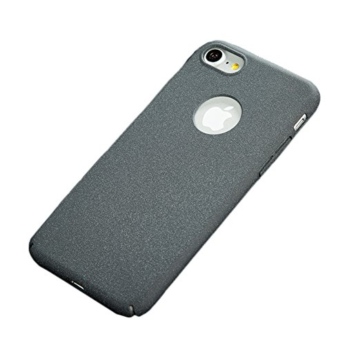 iPhone Coque, Ultraslim Case Bumper Back Cover Housse de Protection Shell, Anti-Rayures et Anti-Choc Gris(Surface Mate)