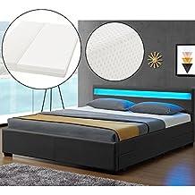 Suchergebnis Auf Amazonde Für Bett 180x200 Mit Matratze Und Lattenrost