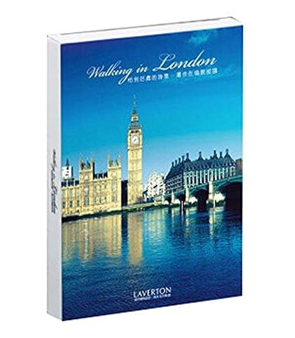 Monde Carte postale de beauté Places carte Depicting Voyage à Londres