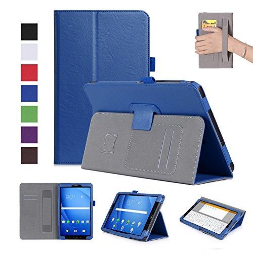 Galaxy Tab A 10.1 Hülle, ISIN Samsung Galaxy Tab A 10.1 Zoll SM-T580 SM-T585(Passen Sie für S-Pen-Version SM-P580 SM-P585 ) Tablet PC Handy Schutzhülle Tasche Stand Cover mit Handschlaufe,Stylus Halter - Stylus Tab Galaxy S Für Samsung