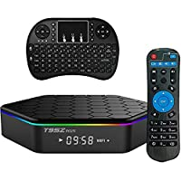 Zedo T Plus Google TV BOX Android 7.0 Amlogic Octa Core 2GB DDR3 16GB EMMC Android TV Box Support 2.4G/5G Dual Band WIFI 1000M LAN 4K 3D With Wireless Mini Keyboard �??