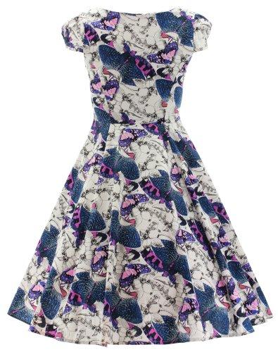 H&R London -  Vestito  - Donna Bianco