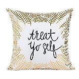 Leey Grande cuscino Mandala Floor cuscini rotondi Bohemian Meditazione copertina Ottomana Soggiorno,Decorazioni per la casa di cuscini decorativi in lamina d'oro (A)