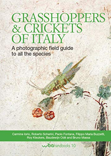 Grasshoppers and crickets of Italy. A photographic field guide to all the species