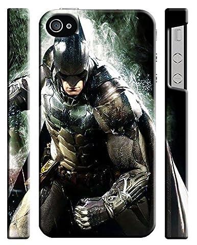 Batman & Ligue de la Justice pour iPhone 4/4S Coque rigide (bat22)