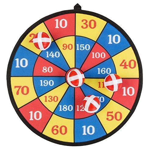 KSS Dartspiel Klettball ca 35 cm Durchmesser für die kleinen Spieler ab 3 Jahren