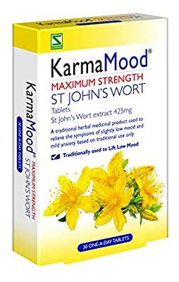Schwabe KarmaMood Max Strength St Johns Wort 425mg 30 Tablet Count
