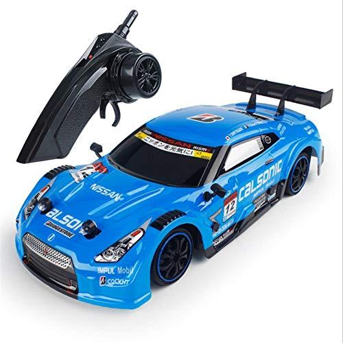 RC Auto Fernbedienung, 2.4G 4WD Drift Stunt Rennwagen High Speed RC Drift Auto (GTR, RC-F).