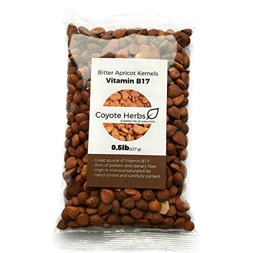 0,227 kg./semi di albicocca amari/Nocciolo di albicocca amaro e crudo/Vitamina b17/mandorle amare