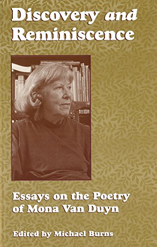 ence Essays on the Poetry on Mona Van Duyn ()