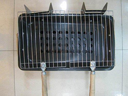 Holzkohlegrill Portable Ofen Paar Barbecue Pits Dreischichtiger Ofen Dreigeschossiger Ofen