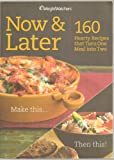 Telecharger Livres Weight Watchers Now Later 160 Recipes That Turn One Meal Into Two (PDF,EPUB,MOBI) gratuits en Francaise