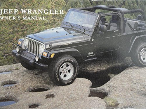 2005 Jeep Wrangler Owners Manual