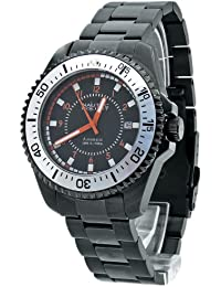 Nautec No Limit Herren-Armbanduhr Barracuda BC AT/IPIPWHBK