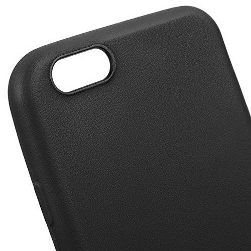 Phone case & Hülle Für iPhone 6 / 6S, Anti-Rutsch mattiert TPU Fall ( Color : Green ) Black