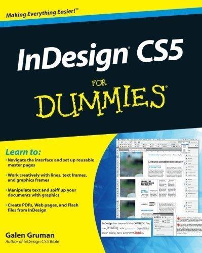 InDesign CS5 For Dummies by Gruman, Galen (2010) Paperback par Galen Gruman