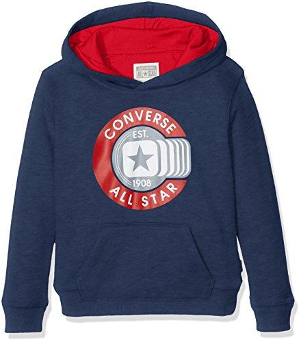 Converse CNV6363S, Sudadera con Capucha para Niños