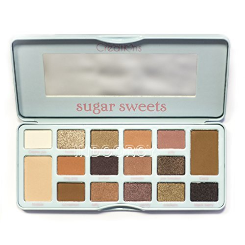 BEAUTY CREATIONS Sugar Sweets Palette Display Set, 6 Pieces
