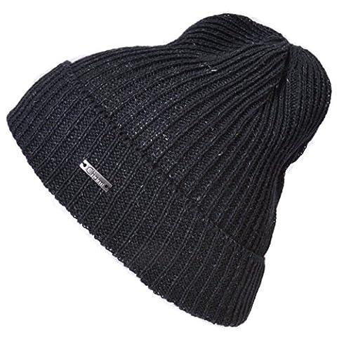 Casualbox - Crochet Hemp Cuff Beanie - Cooling Sweat Wicking SPF50 - MADE In JAPAN - Unisex Headwear for Men & Women