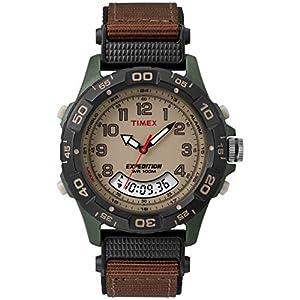 Timex T45181 – Reloj de pulsera para hombres, correa de nylon, color