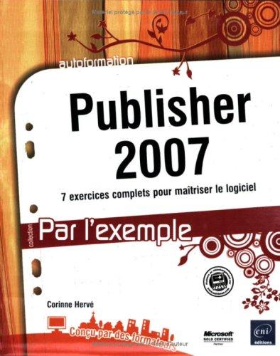 Publisher 2007 par Corinne Hervé