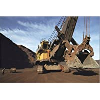 Posterlounge Image Giant excavator on construction site - Medford Taylor/National Geographic