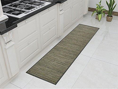 GMM® Teppich Teppich Türen aus PVC Handwäsche Familien-Badteppich Küche Anti Fußmatten lang Teppich Lounge-Pad saugfähig Wasser Füße Patin Stempel Schlafzimmer Fantasie 50cm * 80cm (Lounge Pad)