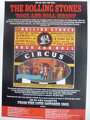 the-rolling-stones-rock-and-roll-circus-mounted-press-poster