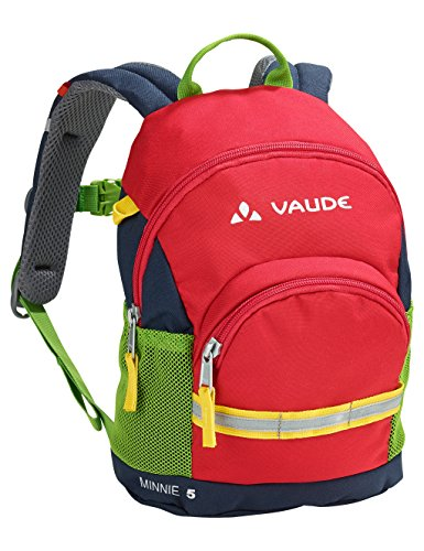 VAUDE Kinder Minnie 5 Kinderrucksack, Marine/Red, one size