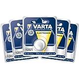 5er Set Varta (6025) CR 2025 Knopfzelle Lithium