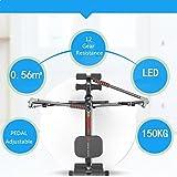 sportequipment Gym Rudergerät Rower Glider Workout Fitness Spielen - 2