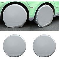 Sedeta® Ruote copertone per pneumatici Custodia morbida per copri-pneumatici Carrozzeria resistente all'acqua per camper RV Truck Trailer