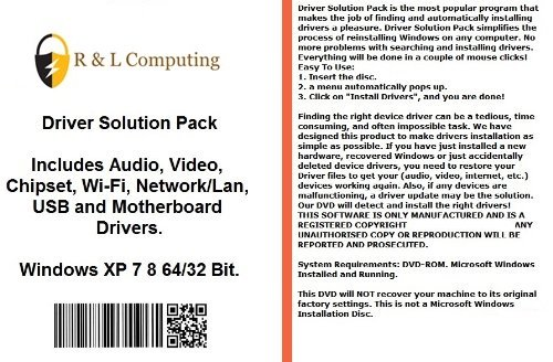 Drivers Solution Pack For Dell Computers Installs Fix for sale  Delivered anywhere in UK
