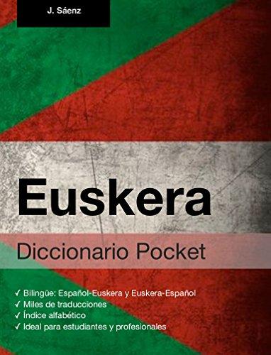Diccionario Pocket Euskera eBook: Sáenz, Juan: Amazon.es: Tienda ...