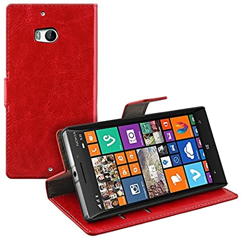 Housse Protection Nokia Rouge - Bookstyle Case pour Nokia Lumia 930 Case