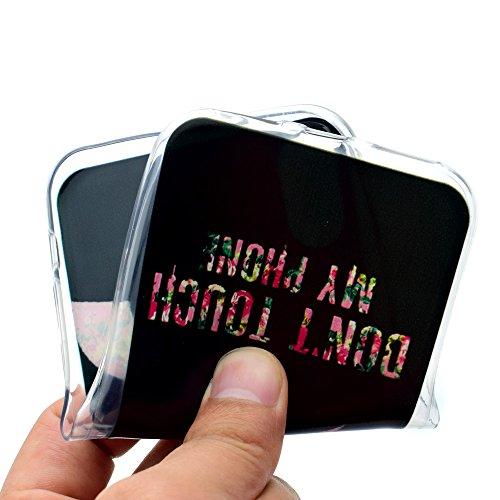 """Hülle für Apple iPhone X , IJIA Transparente Schwarz Indische Sonnenblume TPU Weich Silikon Stoßkasten Cover Handyhülle Schutzhülle Handytasche Schale Case Tasche für Apple iPhone X (5.8"""") AK58"""