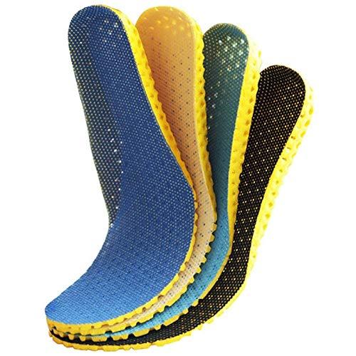 IENXHDD 1 Paar Sneaker Dicke Einlegesohle Fußpflege Fersensporn Laufsport Einlegesohlen Stoßdämpfung Pads Arch Orthopädische Einlegesohle 40 Royal Blue -