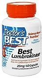 Mejores Lumbrokinase, 20 mg, 60 Cápsulas - El médico de Best