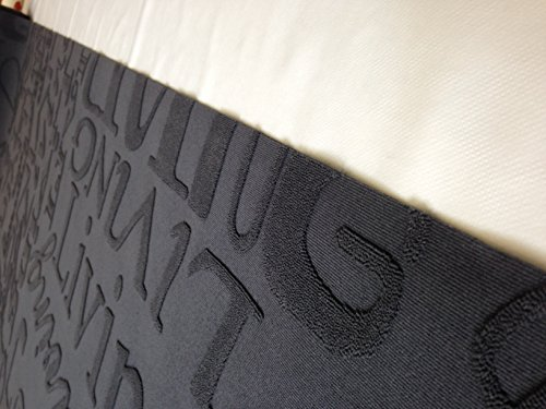 big promo and special price tappeto cucina 67 x 300 living design scritte nero grigio lavabile