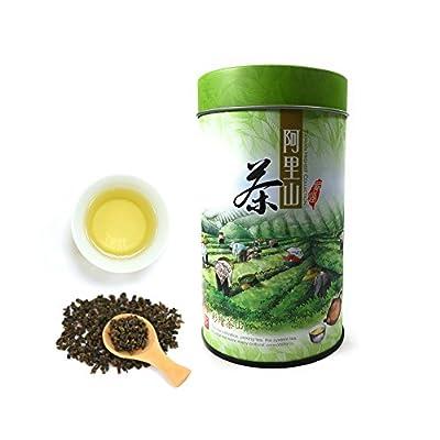 PJT Prime nouveau thé oolong organique feuilles mobiles, taiwan Alishan thé de haute montagne - [printemps saisonnier nouvelle feuille '18] - goût frais délicieux attributs santé arôme - 5,3 oz 150g