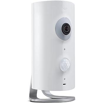 Piper NV Smart Home Night Vision Sécurité et Surveillance Caméra avec alarme et vidéo HD - Blanc