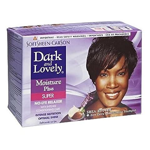 softsheen Carson Dark and Lovely Feuchtigkeit Plus No-Lye Relaxer SUPER