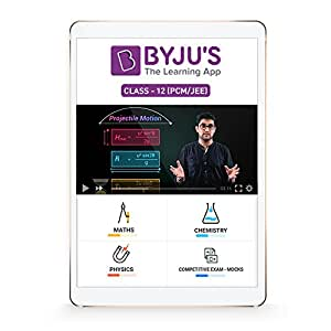 BYJU'S Class 12 (PCM) JEE Preparation (SD Card)